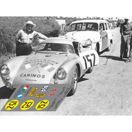 Porsche 550 Coupe - Carrera Panamericana 1953 nº 152