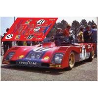 Ferrari 312PB - Le Mans 1973 nº17