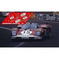 Ferrari 512S - Le Mans 1970 nº15