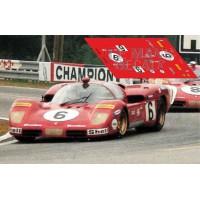 Ferrari 512S - Le Mans 1970 nº6