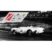 Porsche 550 Coupe - Le Mans 1954 nº41