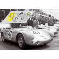 Porsche 550 Coupe - Le Mans 1954 nº47