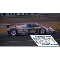 Toyota 88C - Le Mans 1988 nº 36