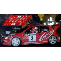 Peugeot 206 WRC - Rally Canarias 2002 nº3