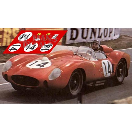 Ferrari 250 TR - Le Mans 1958 nº14