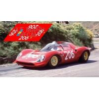 Ferrari Dino 206S - Targa Florio 1968 nº206