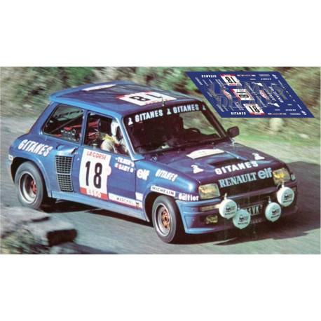 Renault 5 Maxi Turbo - Tour de Corse 1985 nº 27