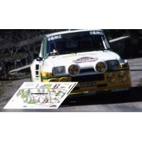 Renault 5 Turbo - Rallye Garrigues 1986 nº 20