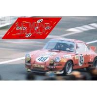 Porsche 911 RSR - Le Mans 1973 nº49