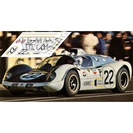 Howmet TX - Le Mans 1968 nº22