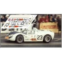 Howmet TX - Le Mans 1968 nº23