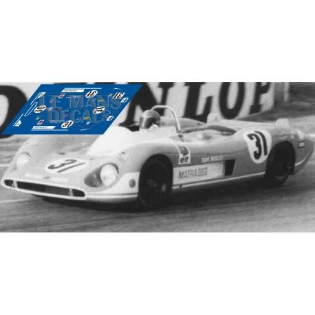 Matra MS 660 - Le Mans 1970 nº 31