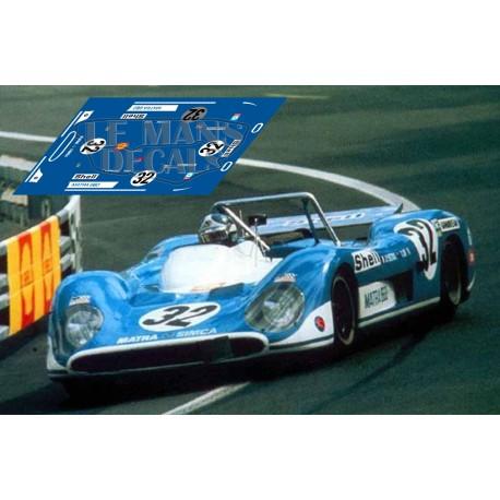 Matra MS 660 - Le Mans 1971 nº 32