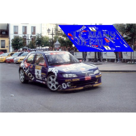 Peugeot 306 - Rally Avilés 1997 nº4