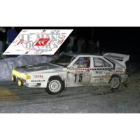 Citroën BX 4TC - Rally Montecarlo1986 nº15