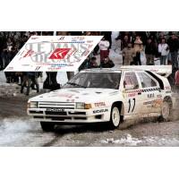 Citroën BX 4TC - Rally Montecarlo1986 nº17