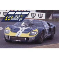 Ford MkII - Le Mans 1966 nº 6