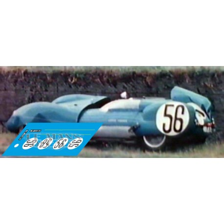 Lotus XI eleven - Le Mans 1958 nº56