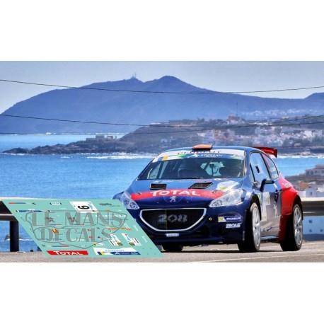 Peugeot 208 R5 - Rally ERC Canarias 2017 nº9