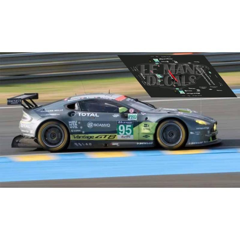 2016 Aston Martin Vanquish Camshaft: Le Mans 2016 Nº95