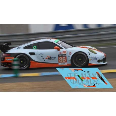 Porsche 911 RSR - Le Mans 2016 nº86