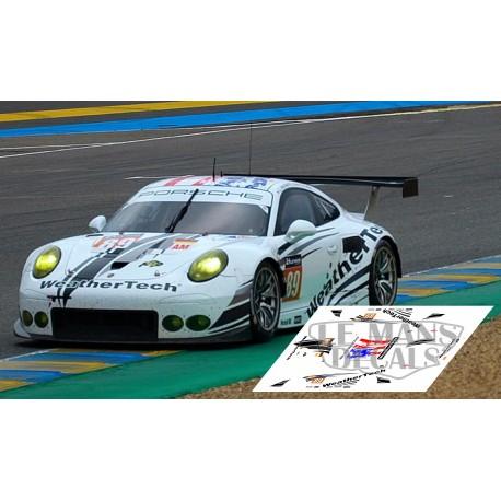 Porsche 911 RSR - Le Mans 2016 nº89