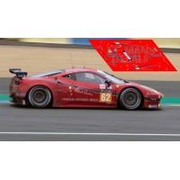 Ferrari 458 Italia - Le Mans 2016 nº62