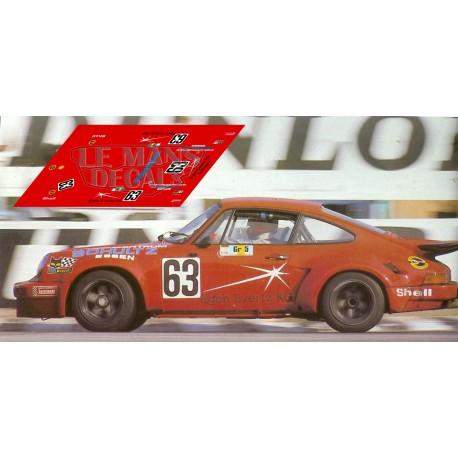 Porsche 911 Carrera RSR - Le Mans 1976 nº63
