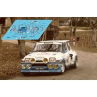 Renault 5 Maxi Turbo - Rally Quercy 1986 nº 1