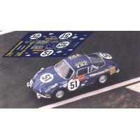 Alpine A110 - Le Mans 1968 nº51