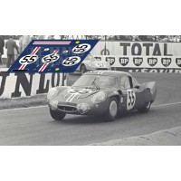Alpine A210 - Le Mans 1966 nº55