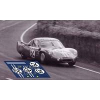 Alpine A210 - Le Mans 1966 nº62