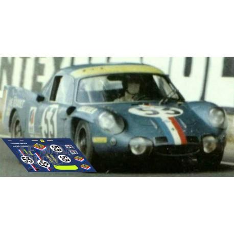 Alpine A210 - Le Mans 1968 nº53