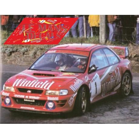 Subaru Impreza - Rally du Condroz nº1