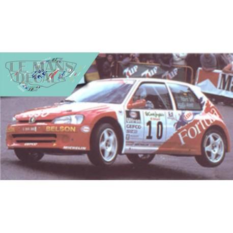 Peugeot 106 - Rally Canarias 2000 nº10