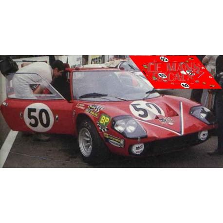 Ligiar JS1 - Le Mans 1970 nº50