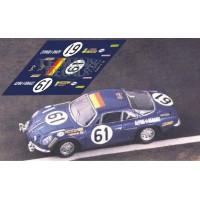 Alpine A110 - Le Mans 1968 nº61