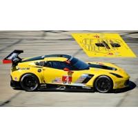 Corvette C7R - 12h Sebring 2017 nº4
