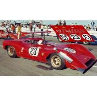 Ferrari 612P - Can-Am Las Vegas 1968 nº23