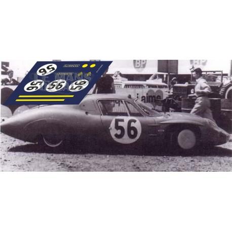 Alpine M65 - Le Mans Test 1966 nº56