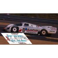 Porsche 962C - Le Mans 1989 nº8