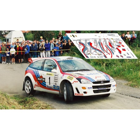 Ford Focus WRC - Rally Barum 2000 nº1