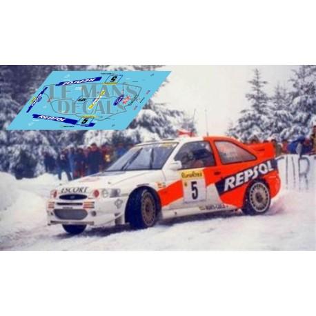 Ford Escort WRC - Rallye Montecarlo 1997 nº5
