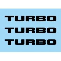 Renault Turbo Black (x3)