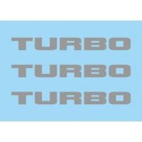 Renault Turbo Grey (x3)