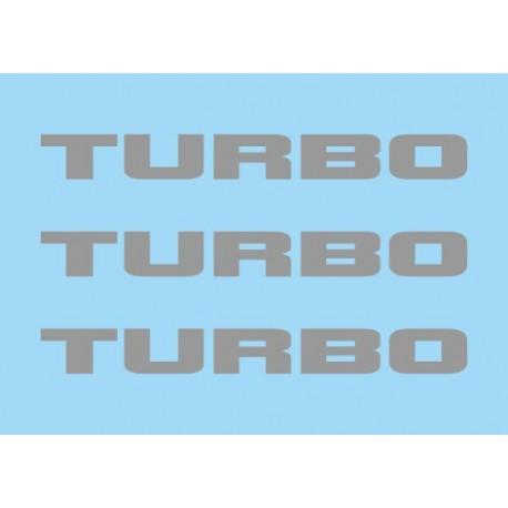 Renault Turbo Gris (x3)