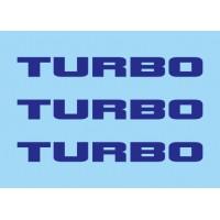 Renault Turbo Azul (x3)