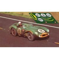 Aston Martin DB3S - Le Mans 1956 nº8