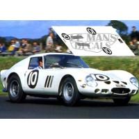 Ferrari 250 GTO - Tourist Trophy 1962 nº10