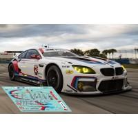 BMW M6 GTLM - 12h Sebring 2017 nº24
